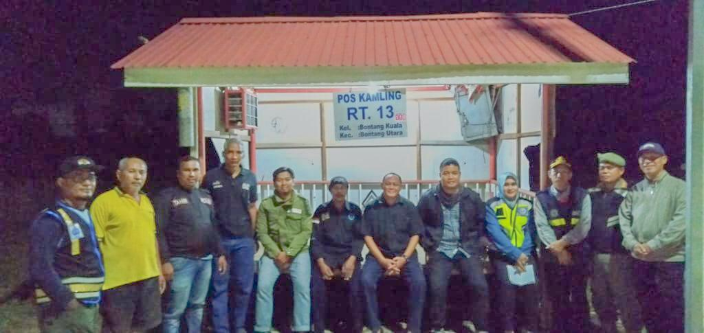 Patroli Perdana Kelurahan BK di Tahun 2020