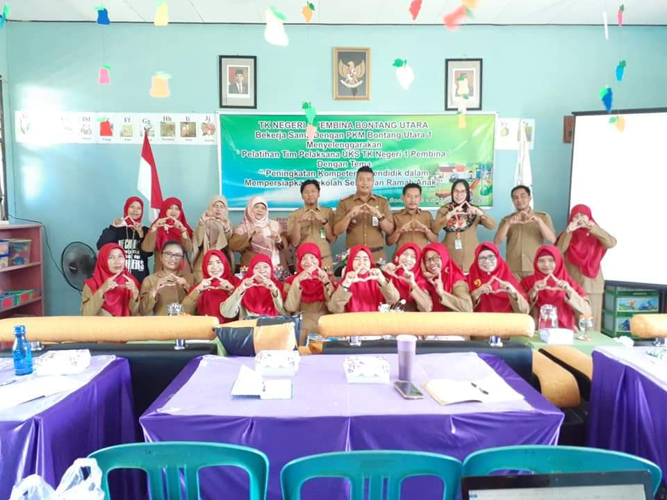 Lurah BK Membuka Pelatihan Sekolah Sehat dan Ramah Anak